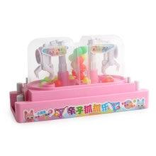 Забавная мини двойная битва Захваты зажимы конфеты Коллекционная кукла машина настольная Дети Развивающие развитие интерактивные игрушки