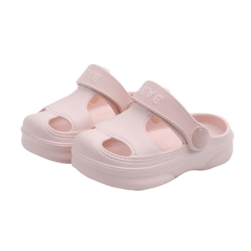 Slippers For Kids Shoes Boys Girls Summer Toddler Kids Cartoon Beach Shoes Baby Soft Indoor Bathroom Slippers Flip Flops 6