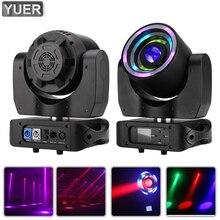 LED 40W RGBW 4IN1 Moving Head Light With 70X0.2W SMD RGB Aperture DMX512 Voice Control 9/14CH DJ Disco Stage Wedding Party Bar