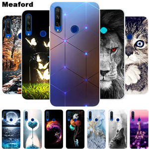 For DOOGEE N20 Case Phone Cover Soft Silicone Printing Back Case Coque for DOOGEE N20 N20 Shockproof Cover For DoogeeN20 Funda(China)