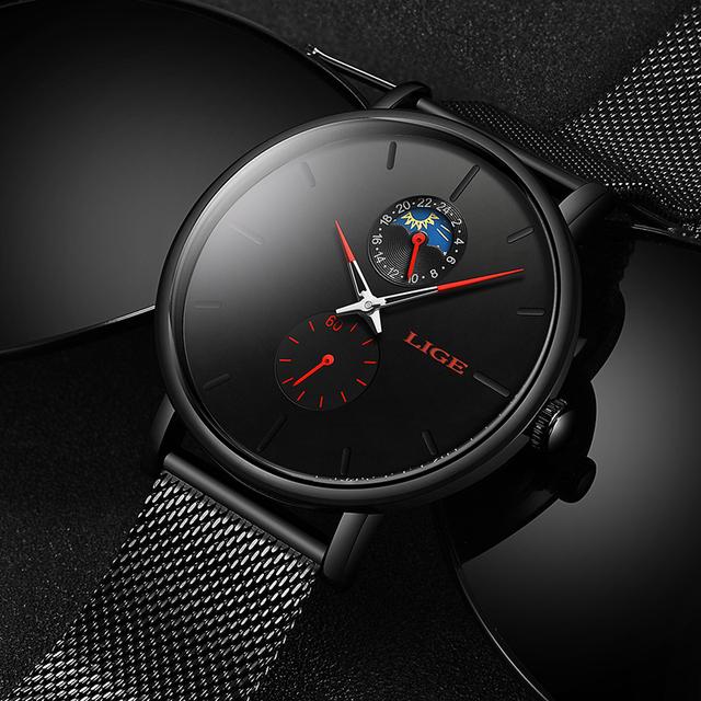 Fashion Ultra Thin Quartz Watch
