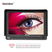 BESTVIEW S7 4K camera External display HDMI HD monitor video TFT field 7 inch DSLR lcd monitor shootout 1920*1200