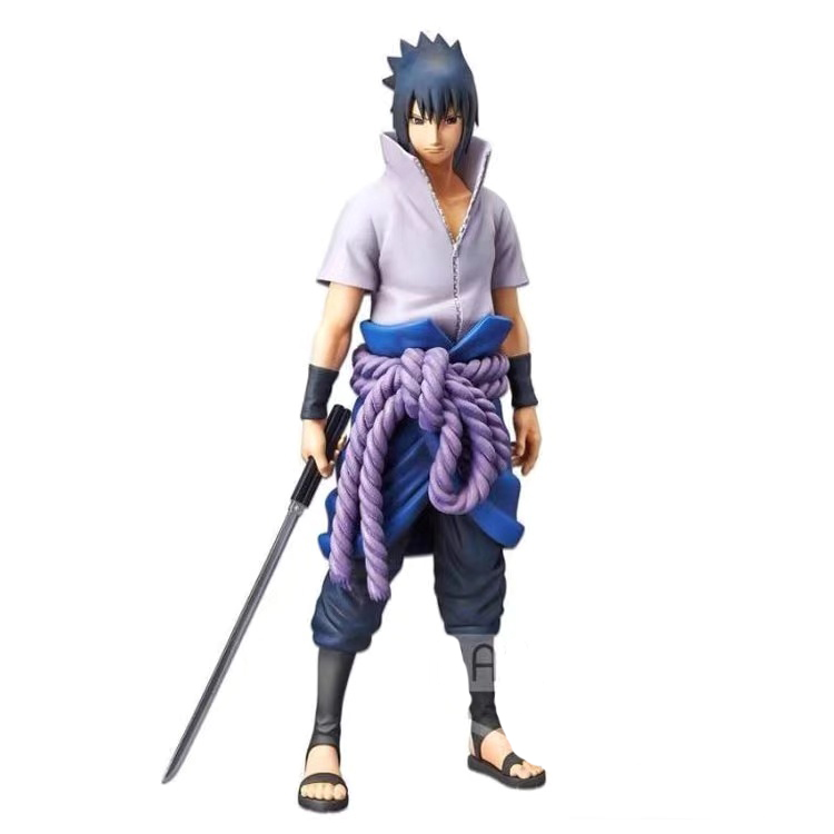Presale May Banpresto Naruto Figure Oversea Limited Sasuke PVC Action Figure Model Figurals
