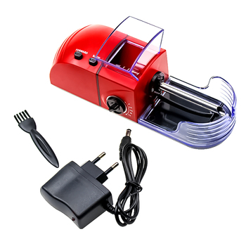 1pc Plug Electric Easy Automatic Cigarette Rolling Machine Tobacco Injector Maker Roller Drop Shipping Smoking Tool Portable niceyard portable cigarette maker smoking accessories rolling machine tobacco roller
