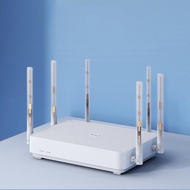 New 2020 Xiaomi Redmi AX6 Wireless Router 2976 Mbps Mesh WIFI 6 2.4G / 5G Dual-Frequency 512MB OFDMA 6 Antennas Repeater PPPOE 3