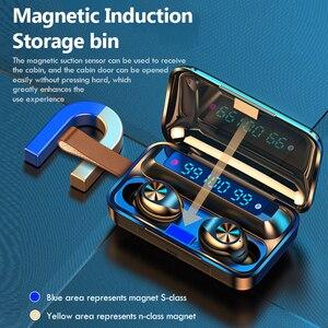Image 4 - 新しい tws bluetooth イヤホン 5.0 タッチ防水スポーツワイヤレスイヤホンステレオヘッドフォン真ワイヤレスイヤフォンで micrphone