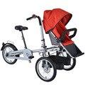 Ruituo mère bébé vélo parent-enfant vélo jumeaux bébé poussette taga vélo MYC01