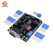 1 комплект DC 5-12 В MCP2515 Can шина Щит Плата SPI интерфейс 9 контактов Стандартный Sub-D разъем модуль расширения для Arduino Seeeduino