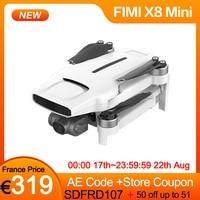 FIMI-Dron x8 Mini 250G-Class 4K, cámara HD, 3 ejes, cardán, FPV, 5G, Wifi, GPS, 30 minutos, 8KM, Control remoto