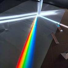 Optical Glass Triangular Prism Lens Small Experimental Equipment Mitsubishi Rainbow Refractor Photography Mirror