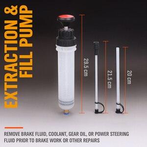 Image 5 - Extrator fluido de óleo do carro bomba de ar automático de enchimento seringa garrafa transferência extração combustível automotivo mão bomba dispenser ferramentas 200cc