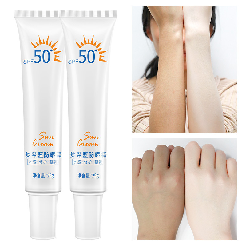Facial Body Sunscreen Whitening Sun Cream Sunblock Skin Protective Cream Anti-Aging Oil-control Moisturizing