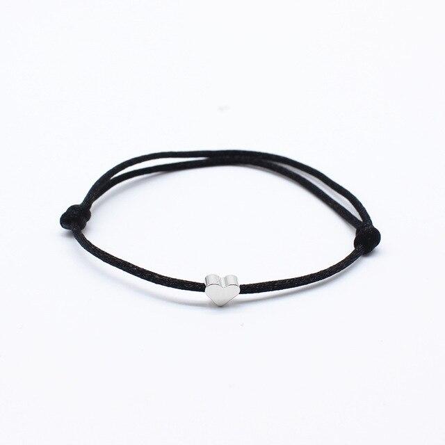 Натуральный камень Новая 7 цветная подвеска тканый браслет с картой Загадай желание регулируемый браслет из веревки для женщин очаровательные подарочные украшения - Окраска металла: 8