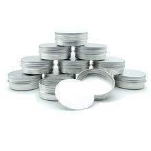 10 шт., алюминиевая банка для крема, 30 г, алюминиевая Жестяная Банка, контейнер для помады, пустая банка для свечей, металлический косметическ...