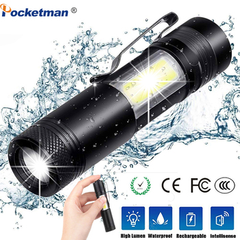 3800LM ZOOM Torch Mini Portable Working Emergency lamp XML-Q5+COB LED Flashlight Zoom Penlight Use AA14500 Battery Waterproof sitemap 33 xml