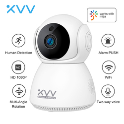 Xiaovv 1080P IP Camera Baby Monitor 360° Panoramic PTZ Wireless Wifi Webcam Night Vision Motion Detect Security Cam For Mi Home