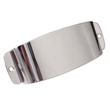 1 Pcs Chrome Plated Steel Pickup Cover Protector For Guitar Jazz Bass Guitar Part Replacement High Quality Accessories high quality small jazz electric guitar
