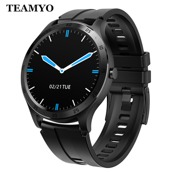 TEAMYO Smart Watch Men Women Full Touch Screen Fitness tracker IP67 Waterproof Heart Rate Monitor Smart Bracelet For IOS/Android