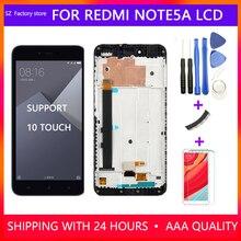 Ekran değiştirme Xiaomi Redmi için not 5A başbakan lcd ekran ve dokunmatik ekranlı sayısallaştırıcı grup seti Redmi Note5A Y1/Y1 Lite