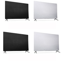 Всепогодный пылезащитный чехол для телевизора совместим с настенными креплениями и подставками пылезащитный чехол для телевизора эластичная манжета+ эластичная лента