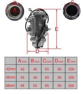 Image 3 - Zsdtrp HSR42 HSR45 HSR48 mikuniアクセルポンプパフォーマンスポンプ車用キャブレター炭水化物TM42 TM45 TM48
