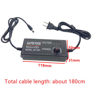 Image 3 - Power adapter Adjustable DC 3V 5V 6V 7V 8V 9V 10V 11V 12V 14V 15V 16V 17V 18V 19V 20V 21V 22V 23V 24V 2A Power Supply display