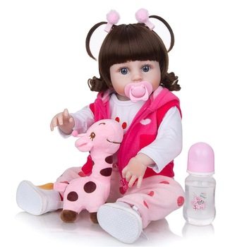 49 cm Silicone Full Body Reborn Baby Dolls Fashion Realistic Waterproof Baby Dolls Soft Touch