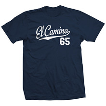 El Camino 65 Script Tail Shirt - 1965 Classic Lowrider Car All Sizes & Colors
