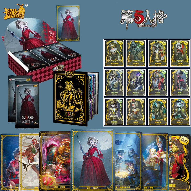 288pcs / Set Identity V Cards Clue Pack Game Kids Toys Girl Boy Collection Cards Christmas Gift Yo Gi Oh Fantasy & Sci-fi 6