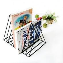 Железный стеллаж для хранения книг магазинов простая современная