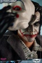Studio de savon FG008 1/12 Batman le Joker Heath Ledger ensemble complet figurines figurines Version braqueur de banque Collections