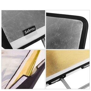 Image 5 - Quente 4 cores painel cltoh estúdio de vídeo bandeira inoxidável painel cltoh refletor difusor fotografia acessorios câmera photo studio