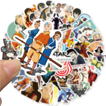 10/50PCS Cartoon Avatar Last Airbender Graffiti Sticker Luggage Computer Waterproof Stickers anime aesthetic manga cute