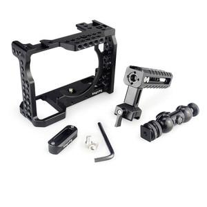 Image 4 - Magicrigdslr هيكل قفصي الشكل للكاميرا مع مقبض الناتو ورأس الكرة لسوني A7II /A7III /A7SII /A7M3 /A7RII /A7RIII طقم وصلة الرموش للكاميرا