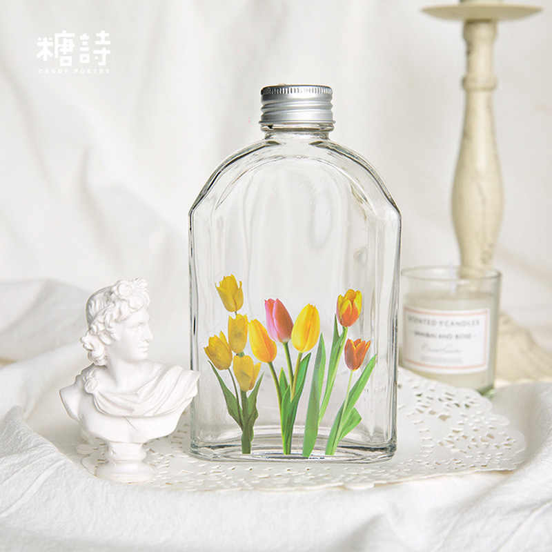 40 pçs/lote Belas flores planta decoração de mini decoração adesivo DIY álbum diário scrapbooking etiqueta de papel adesivo kawaii