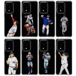 На Алиэкспресс купить чехол для смартфона baseball player silicone soft tpu cover case for samsung s11 s20plus j8 j6 a40 a50 a51 a71