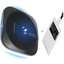 Qi Беспроводное зарядное устройство комплект адаптер рецептор катушка для ihone X Xs MAX XR 8 plus Зарядка для OPPO OnePlus