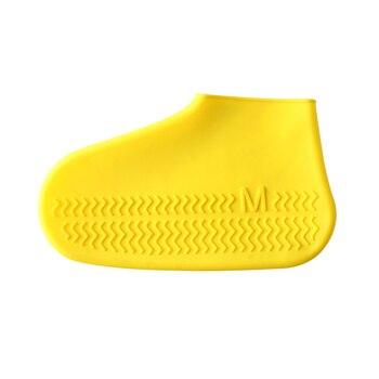 Σετ 2τμχ Αδιάβροχα Προστατευτικά Παπουτσιών για Βροχή για Εσωτερικούς Εξωτερικούς Χώρους Επαναχρησιμοποιούμενα για Ενήλικες και Παιδιά
