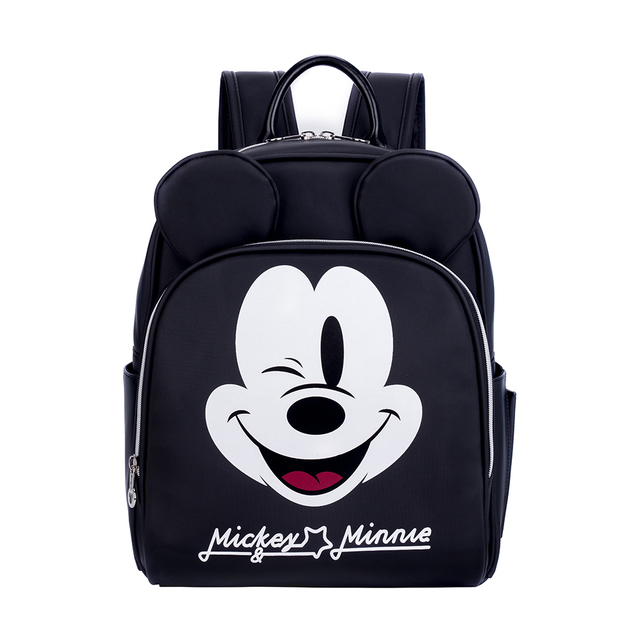 Disney Bag Baby Bag For Mom Diaper Bags Maternity Bag Changing Bag With Hooks Mickey Minnie Mouse Bag For Mom Travel Nursing Bag | Happy Baby Mama