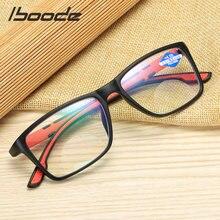 Iboode-gafas de lectura de resina ultraligeras para ordenador, lentes portátiles flexibles a la moda + 1,0 1,5 2 2,5 4,0