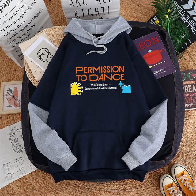 PERMISSION TO DANCE THEMED HOODIE (6 VARIAN)