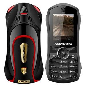 Image 2 - Newmind 2G GSM נעילת רכב צורת מיני טלפון SOS מהיר חיוג ספר אלקטרוני משחק Bluetooth נמוך קרינה 3.5mm שקע ילד תלמיד נייד