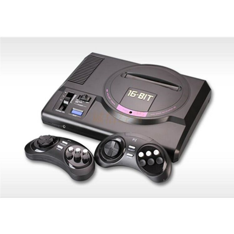 Console Mega-Drive Output-Controller 1-Genesis Sega-Game-Card TV HDMI 126in1 Features title=
