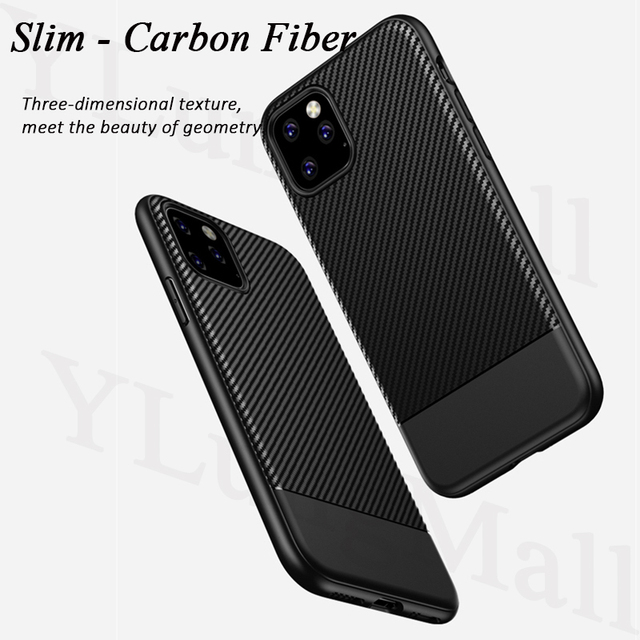 Binbo Carbon Fiber Case for iPhone 11/11 Pro/11 Pro Max 2