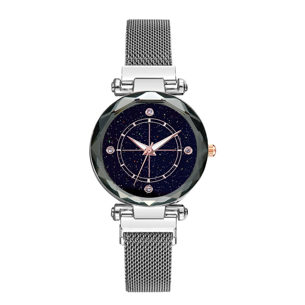 Модные женские часы с магнитной пряжкой звездное небо роскошные высококачественные женские наручные часы подарок кварцевые часы Relogio Feminino