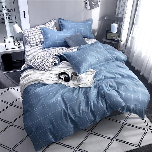 2020 Polyester 1 Pcs Bedding Set Duvet/Comforter Cover Star Flamingo King Full Queen Size Quilt Cover 180*200/200*230/220*240cm