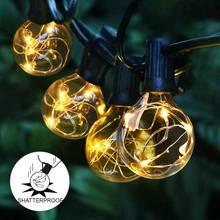 25 шт в винтажном стиле строка светильник Рождество g40 Глобус