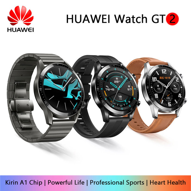 Huawei Watch GT/GT 2 Smart Watch Bluetooth 5.1 Can Talk Blood Oxygen Tracker Spo2 Music Player Watch For Android IOS