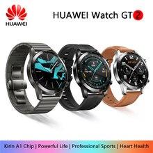 Huawei montre GT/GT 2 montre intelligente Bluetooth 5.1 peut parler sang oxygène Tracker Spo2 lecteur de musique montre pour Android IOS