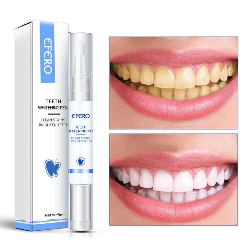 Efero Teeth Whitening Pen Cleaning Serum Remove Plaque Stains